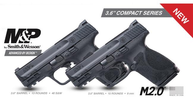 Пистолет M&P Compact 3.6