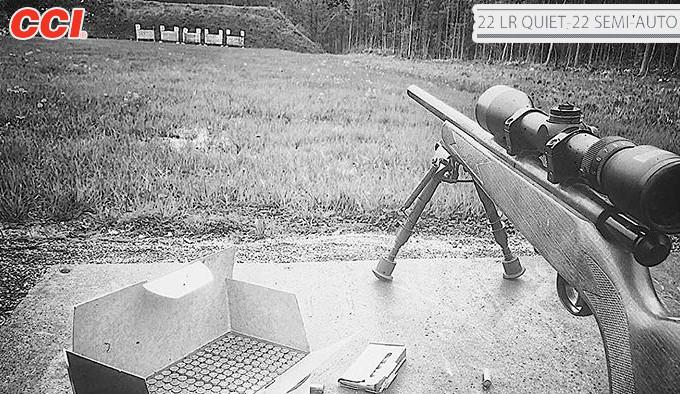 патроны CCI Quiet-22 Semi-Auto