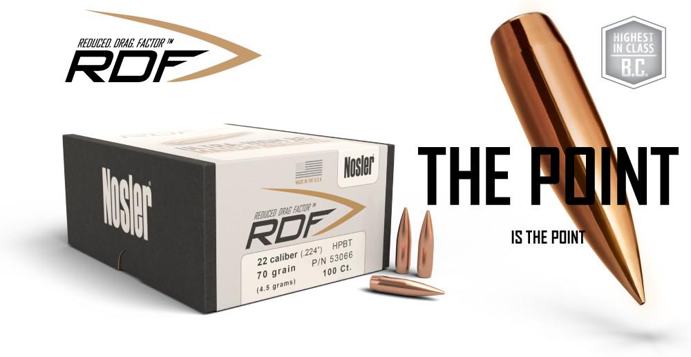 Новые пули Nosler RDF