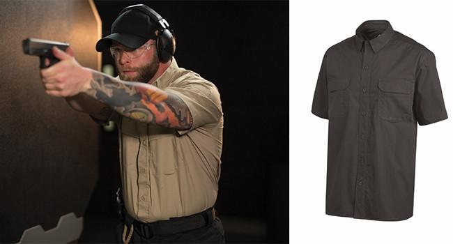 Dickies Men Snap Front Tactical Shirt