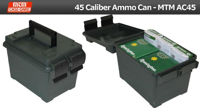 Ящик для патронов MTM Case-Gard AC45