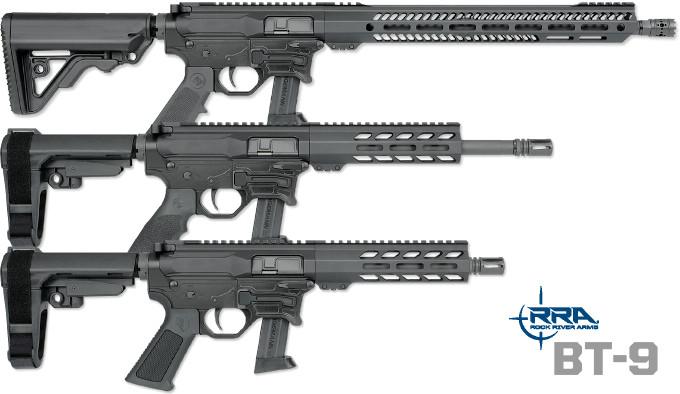 Карабины Rock River Arms BT-9