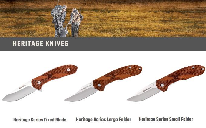 Ножи Remington Cutlery серии Heritage