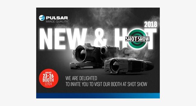 плакат компании Pulsar для SHOT Show 2018