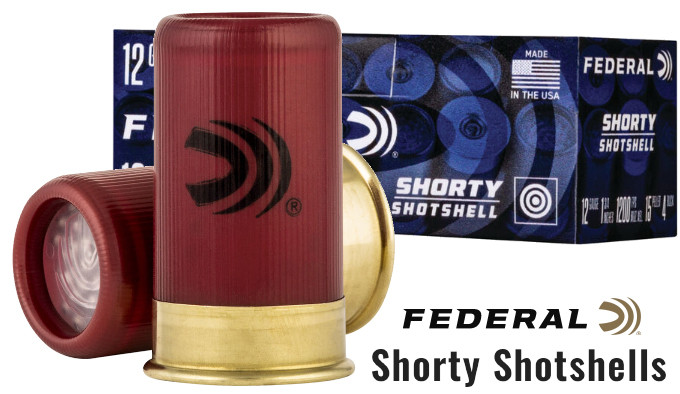 Укороченные гладкоствольные патроны Federal Shorty