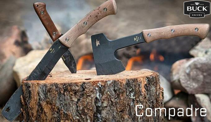 Походная линейка инструментов Buck Knives Compadre