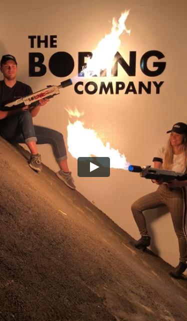 Первые поставки огнеметов Boring Company