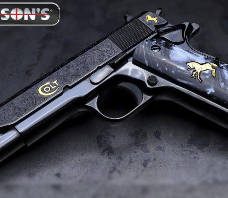 Пистолет Colt 1911 Davidsons Exclusive O1911C-SCB