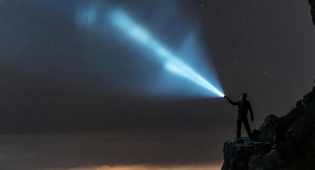 световой луч Fenix TK35 UE