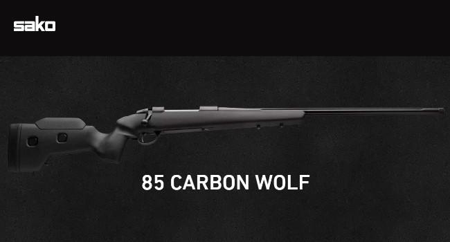 винтовка Sako 85 Carbon Wolf