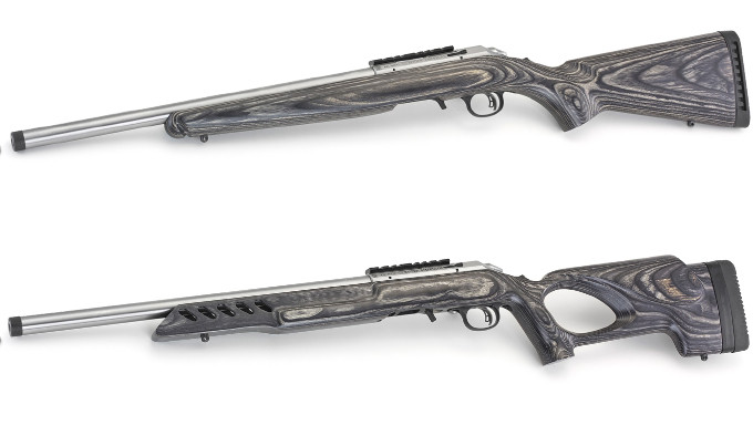 Винтовки Ruger American Rimfire Target Stainless