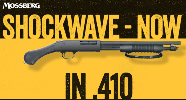 Ружье Mossberg 590 Shockwave .410