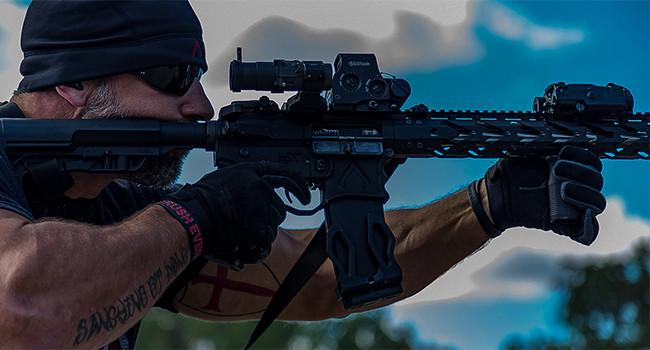 Тактические стрелковые перчатки Dynamis Gauntlet Precision