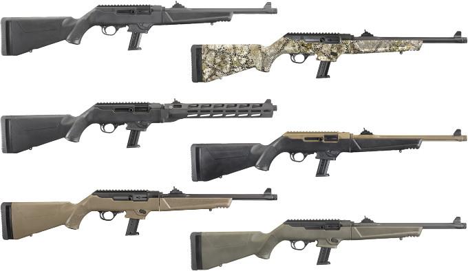 Новые винтовки Ruger PC Carbine