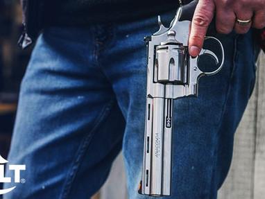 Револьверы Colt Anaconda 2021