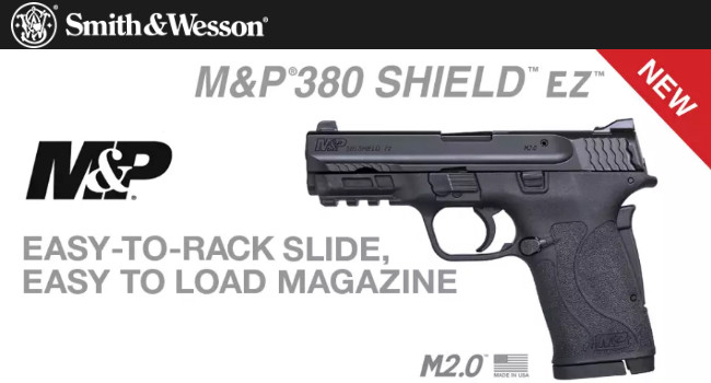 Пистолет Smith & Wesson M&P380 Shield EZ