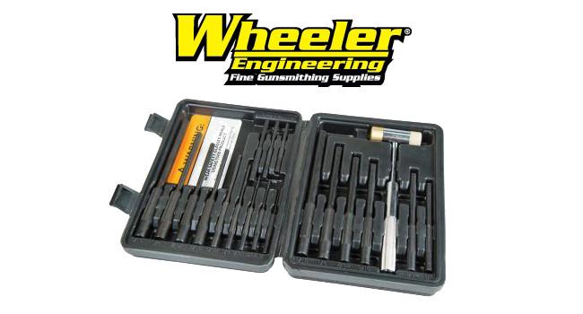 набор Wheeler Master Roll Pin Punch Set