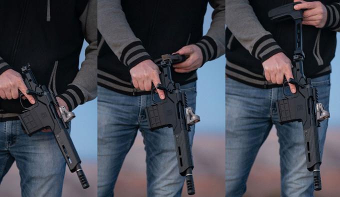 винтовка Christensen Arms MPR в руках