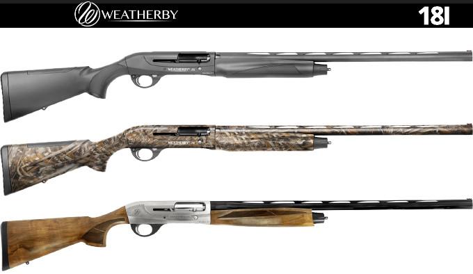 Ружья Weatherby 18i