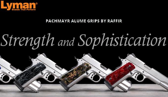 Панели Lyman Pachmayr Alume Raffir