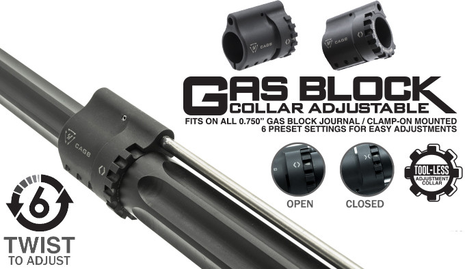 Регулируемая газовая муфта Strike Industries CAGB