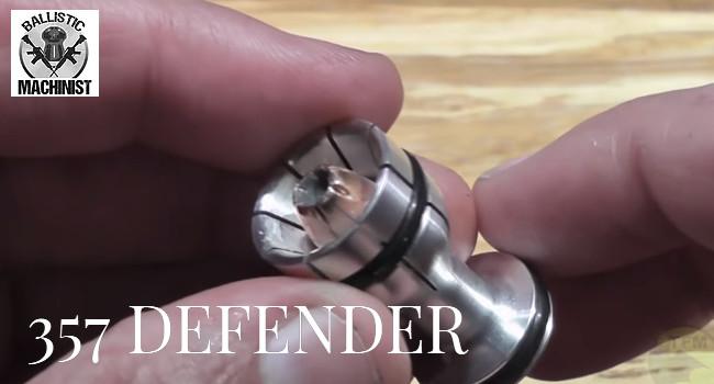 Гладкоствольные пули Ballistic Machinist 357 Defender