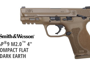 Пистолет Smith & Wesson M&P M2.0 Compact FDE