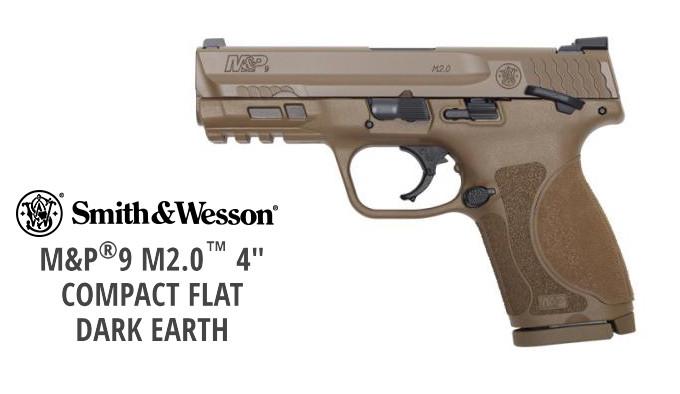 самозарядный пистолет песочного цвета