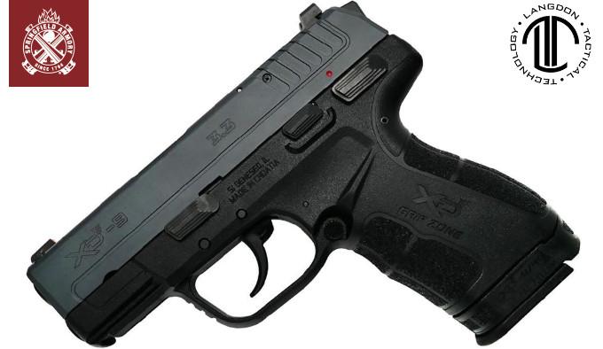 компактный кастом пистолет для самообороны в калибре 9х19