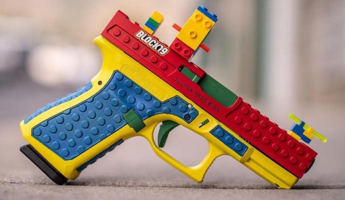 lego пистолет Culper Precision Block19
