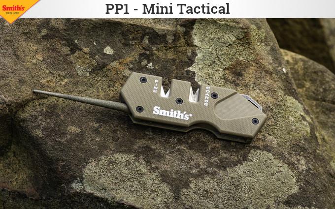 Карманная точилка для ножей Smiths PP1-Mini  Tactical