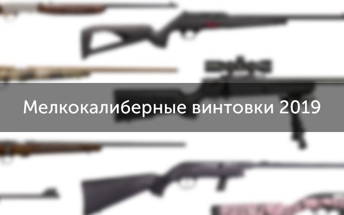 Мелкокалиберные винтовки 2019 года