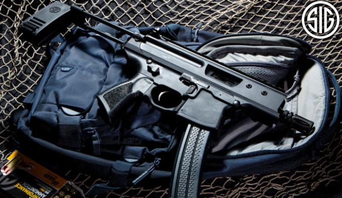 компактный пистолетный карабин в калибре 5,56х45