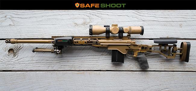 Система безопасности SafeShoot на винтовке