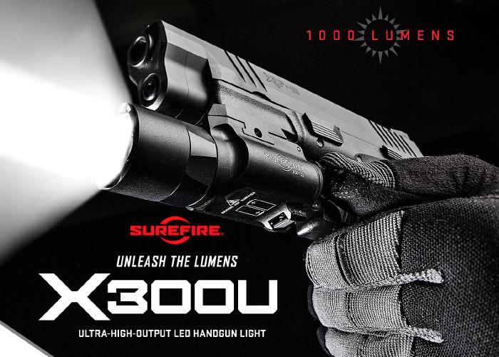 Оружейный фонарь SureFire X300U