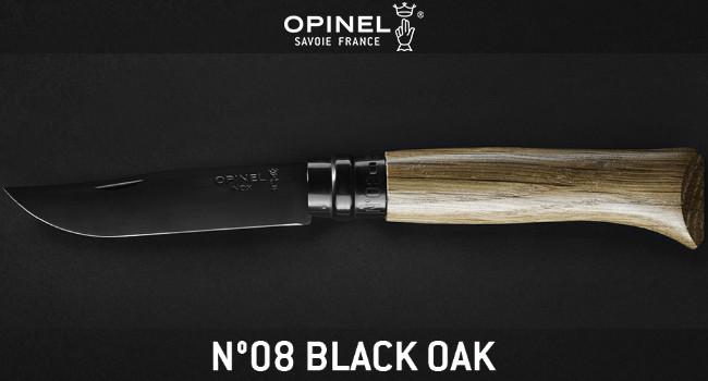Нож Opinel No. 8 Black Oak