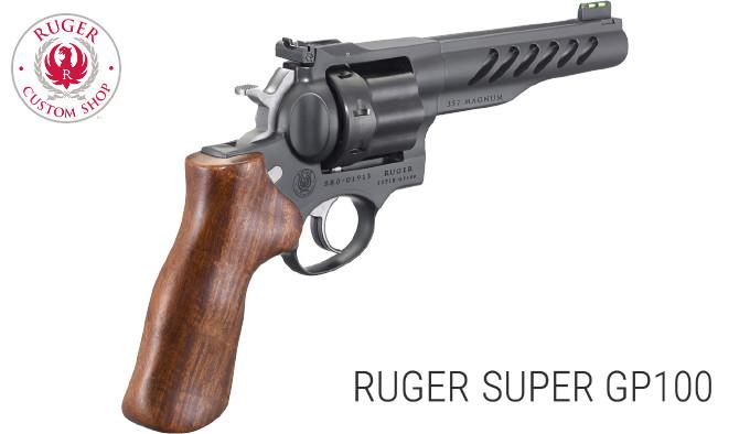 Револьвер Ruger Super GP100