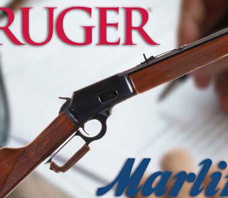 Ruger покупает Marlin