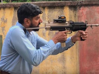 Новые видео индийского оружия AMOGH и MSMC