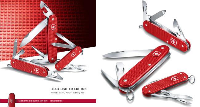 ножи Victorinox Classic SD, Cadet и Pioneer Alox