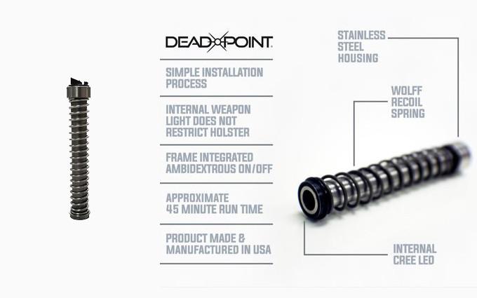 Затворная направляющая-фонарь Deadpoint