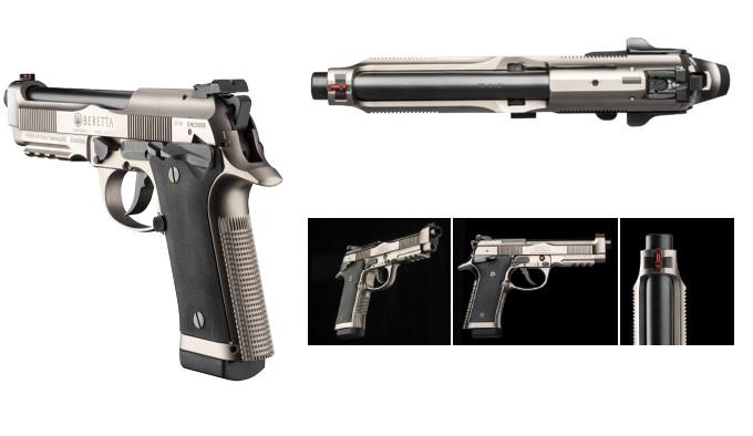 Пистолет Beretta 92X Performance сбоку
