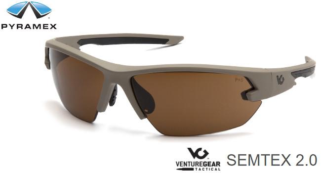 Универсальные стрелковые очки Pyramex VGT Semtex 2.0