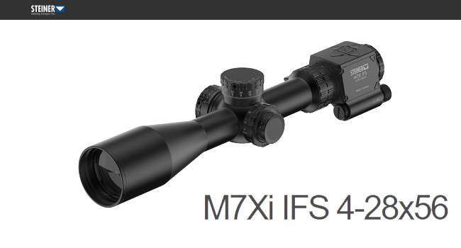 Умный оптический прицел Steiner M7Xi IFS 4-28×56
