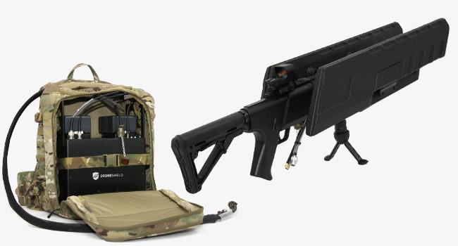 DroneShield DroneGun MKII с рюкзаком