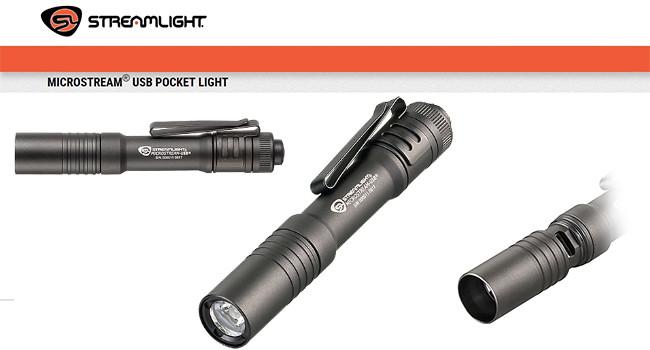 фонарь Streamlight MicroStream usb