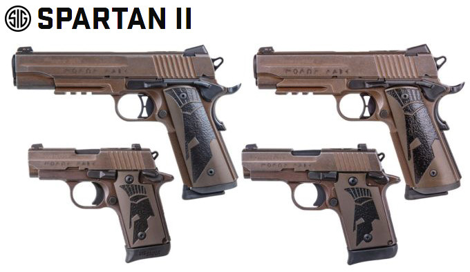 пистолеты Sig Sauer Spartan II