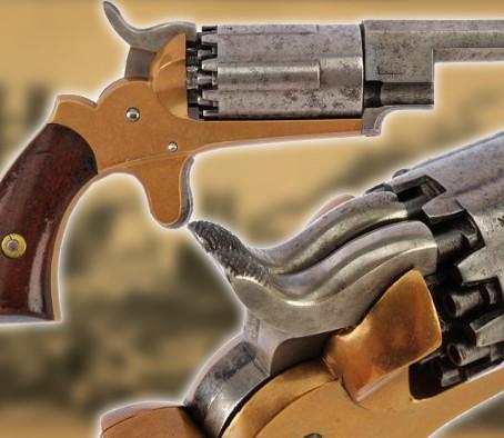 Многозарядный карманный револьвер Джона Уолша - Walch Revolver