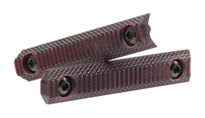 Панели DoubleStar Stronghold G10 MLOK Panel DS428-RED