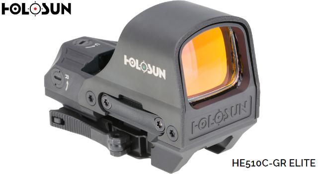 Коллиматорный прицел Holosun HE510C-GR Elite